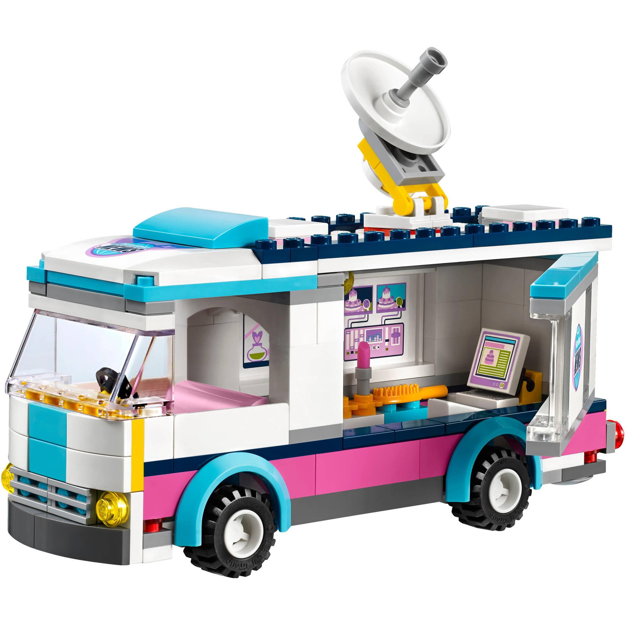 Lego Friends Set 41056 Heartlake News Van Walmart