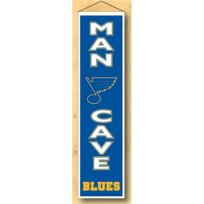Winning Streaks Sports 49256 Saint Louis Blues Man Cave Banner - image 1 of 1