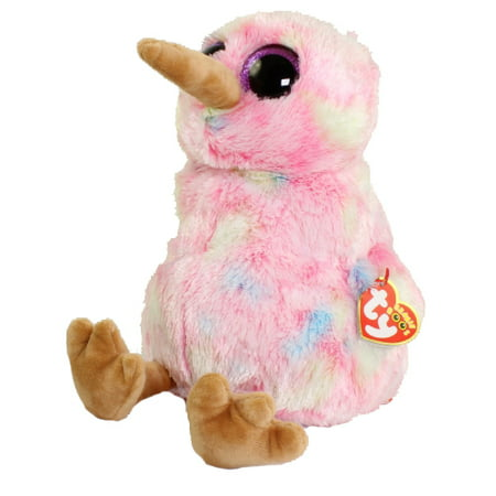 TY Beanie Boos - KIWI the Bird (Glitter Eyes) (Medium Size - 9 inch)