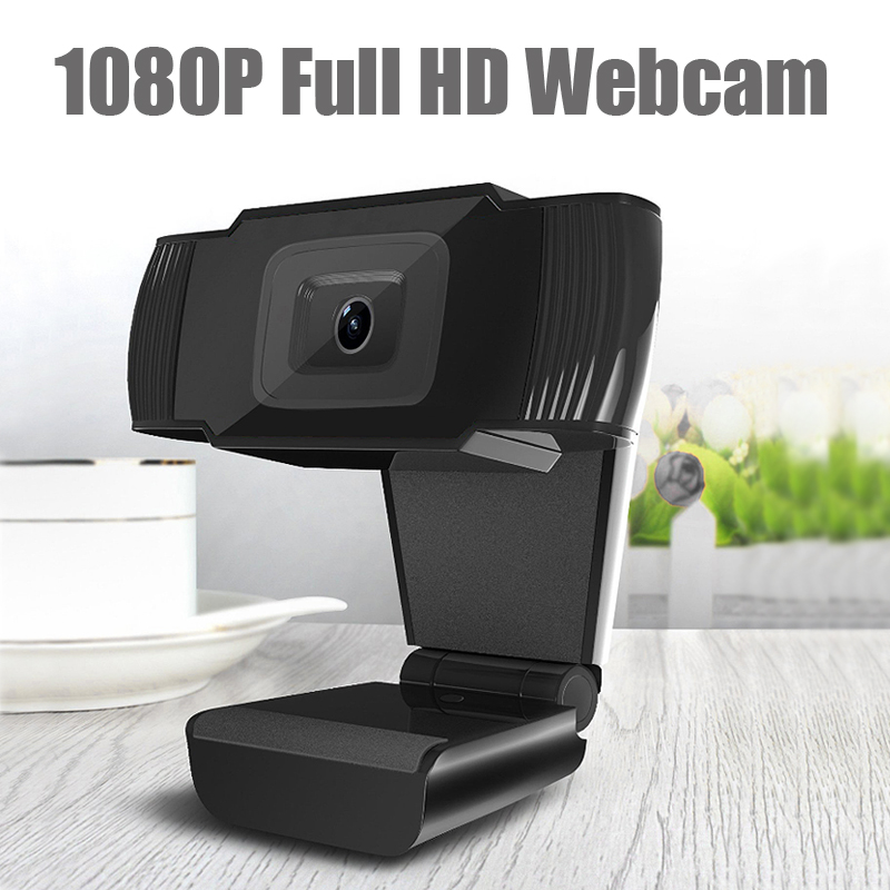 HD 1080P 12MP USB 2.0 Webcam Camera w/ MIC Clip-on For Computer PC Laptop Skype
