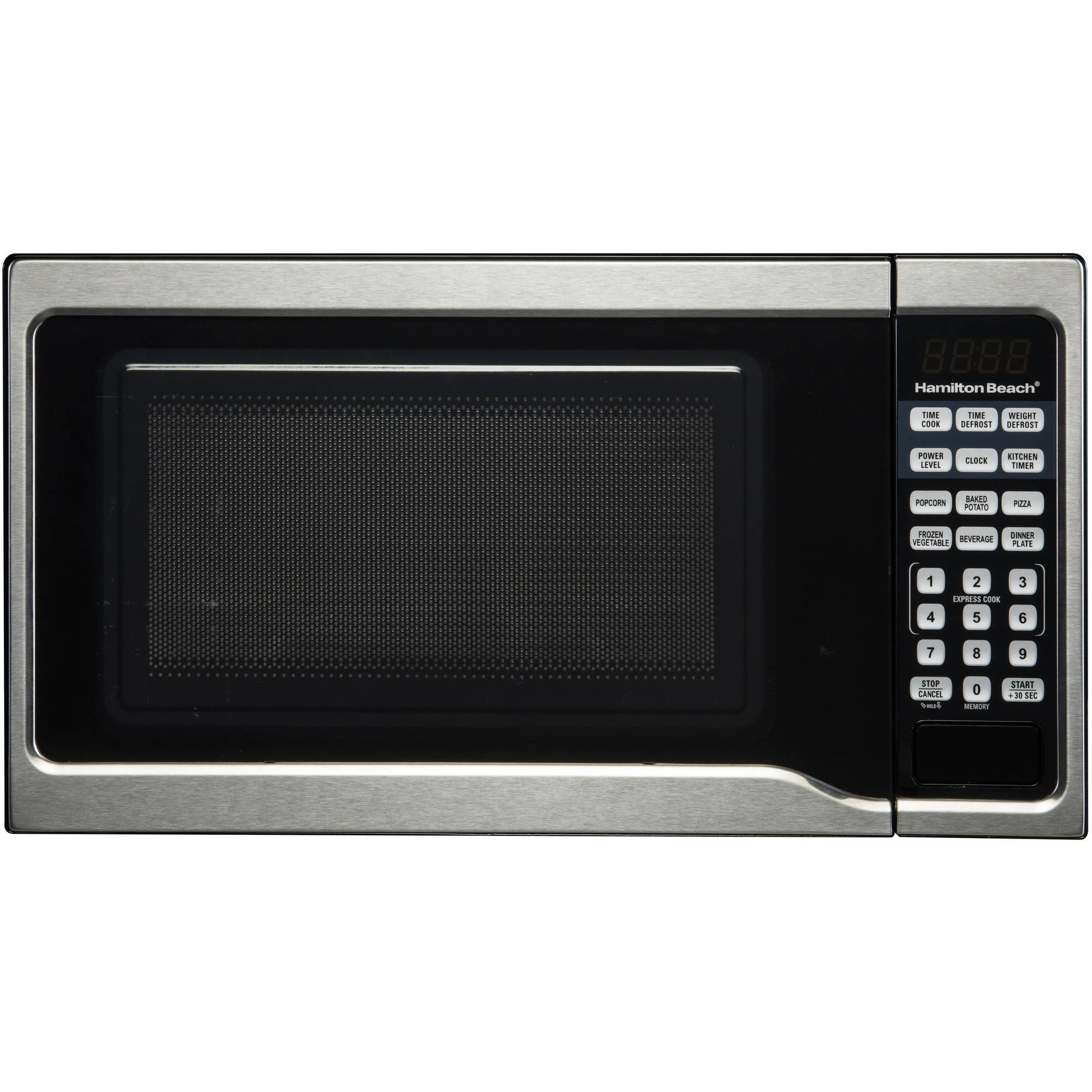 Hamilton Beach 0.7 Cu. Ft. 700W Stainless Steel Microwave