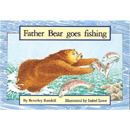 Pm Red Set 3 Fiction  8   Father Bear Goes Fishing Pm Red Set 3  1  Paperback