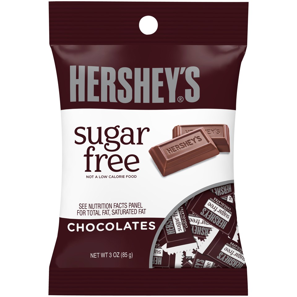 Hershey's Sugar Free Chocolates, 3 Oz by Hershey's
