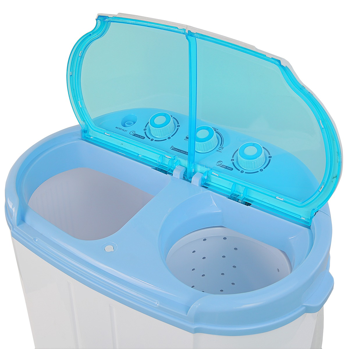 9LB MINI Washer And Spin Dryer Portable Compact Laundry Combo, With Hose    Walmart.com