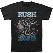 Rush Men's  Rush '2112 Live' T-shirt Black