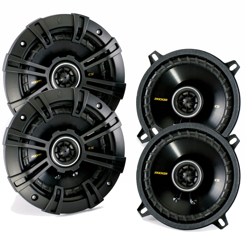 Kicker CS speaker package - Two pairs of Kicker CS Series 5 Coaxial 40CS54