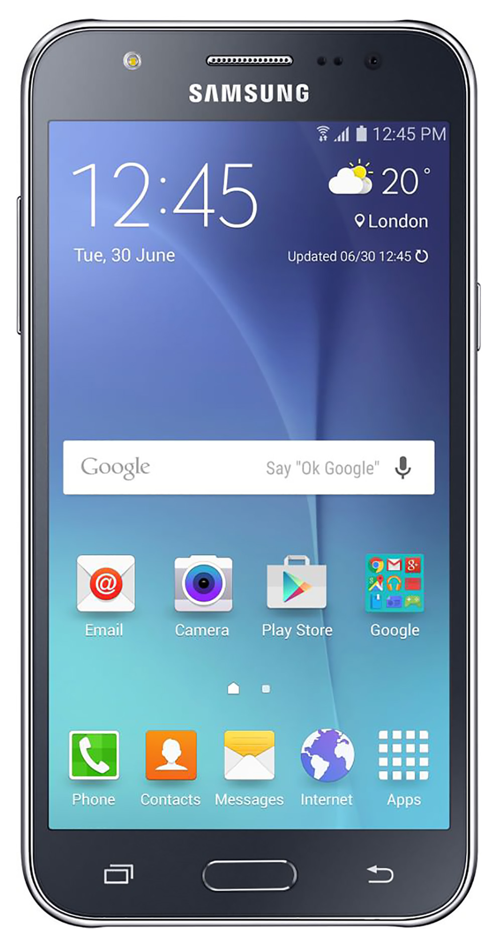 Samsung Galaxy J5 J510M Unlocked GSM 4G LTE Quad-Core Phone Black by Samsung