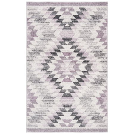 Ivory Plum (Safavieh Adirondack 3' x 5' Rug in Plum and Ivory )