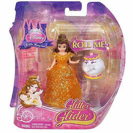 Disney Princess Glitter Gliding Princess Belle