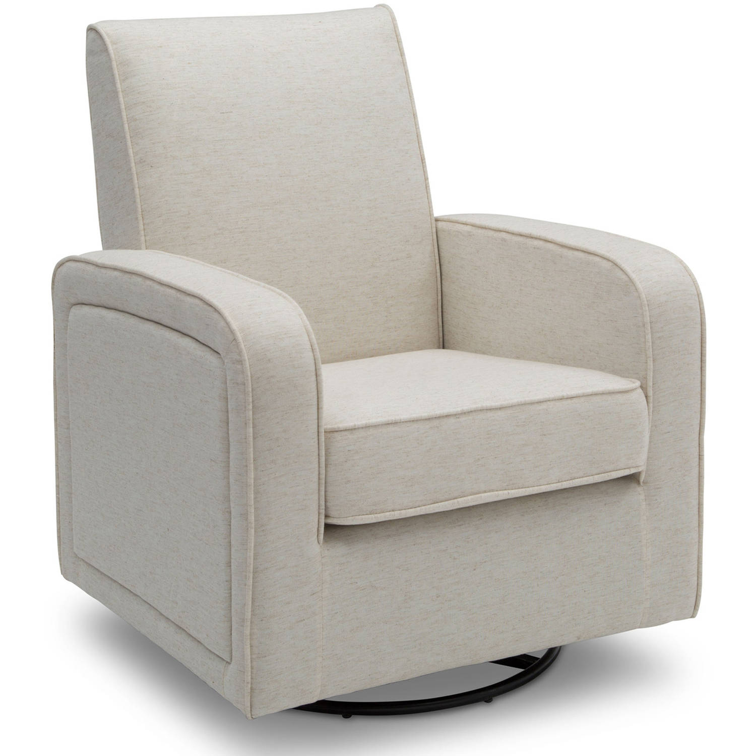 Delta Furniture Charlotte Glider Swivel Rocker Chair, (Choose Your Color)