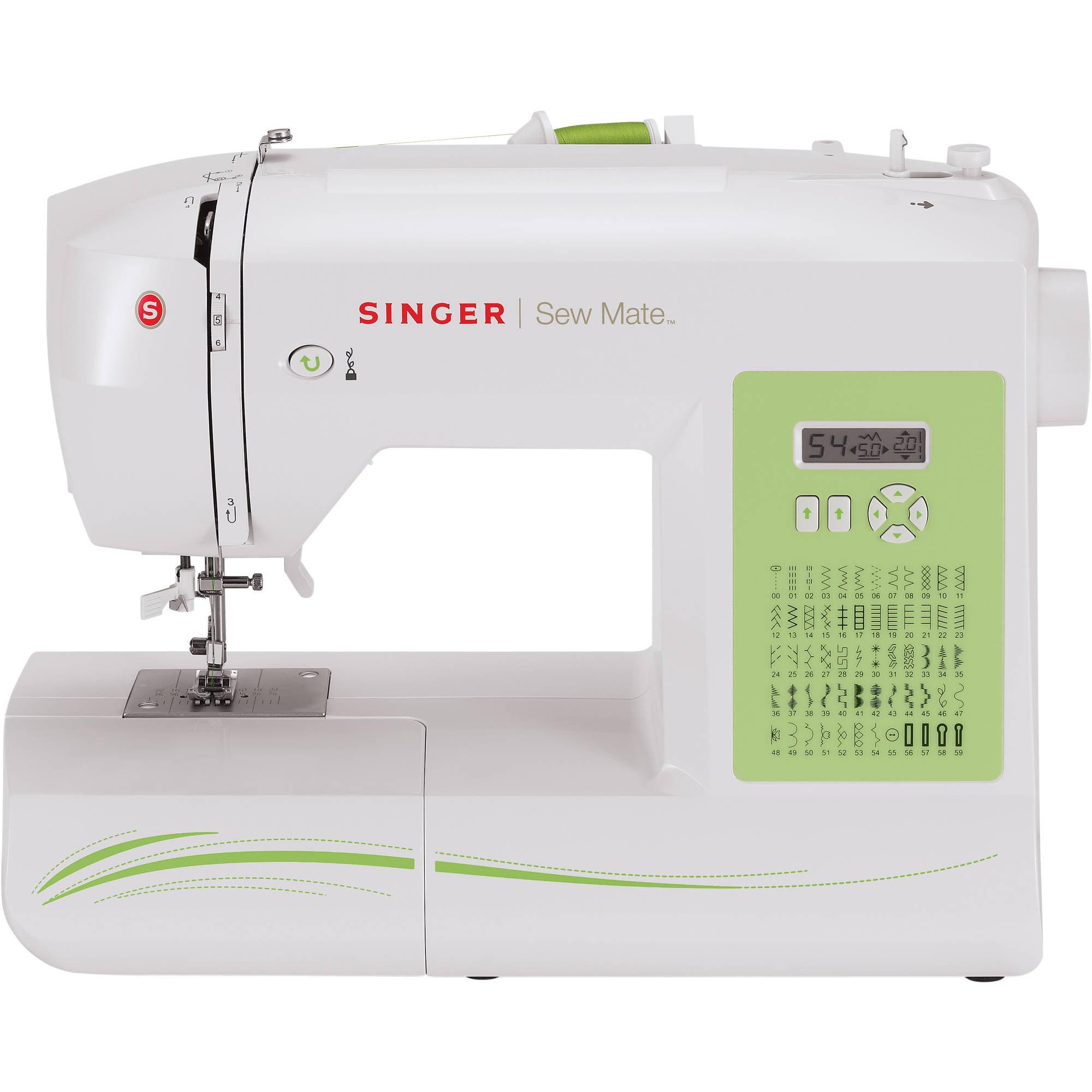 Singer 5400 Sew Mate 60-Stitch Sewing Machine