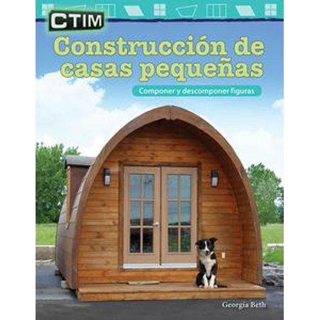 CTIM Construcción de casas pequeñas: Componer y descomponer figuras - - Figuras Animadas De Halloween
