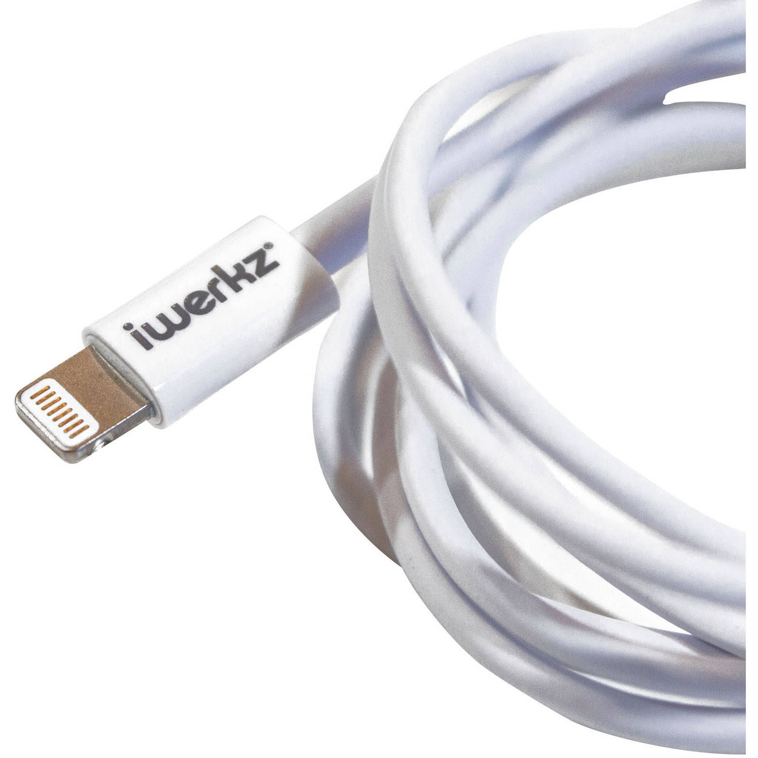 iWerkz Lightning Charge and Sync Cable, 4'