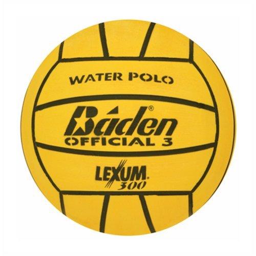 Baden Lexum Deluxe Rubber Water Polo Ball - Size 3 - Yellow