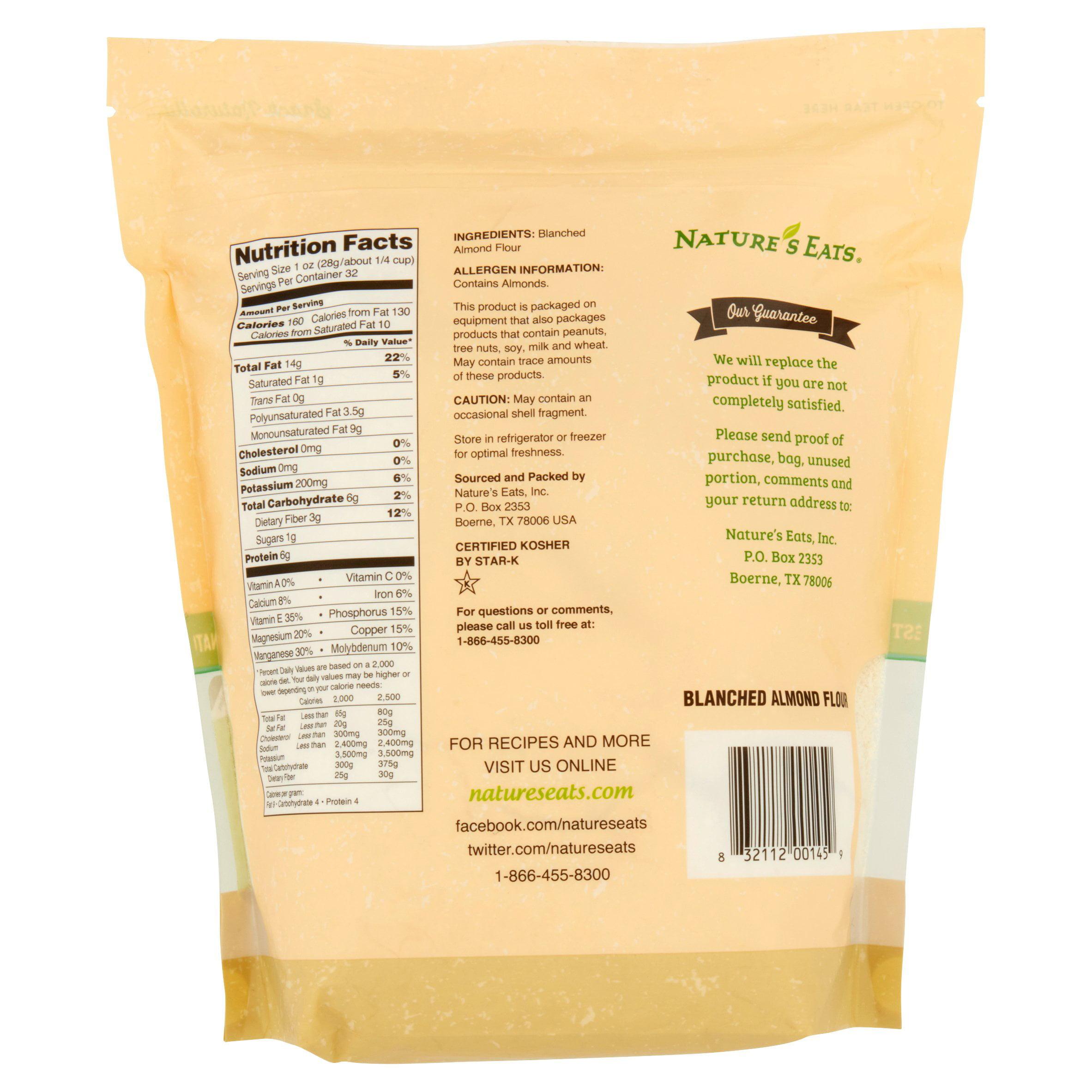 Nature's Eats Blanched Almond Flour, 32 Oz