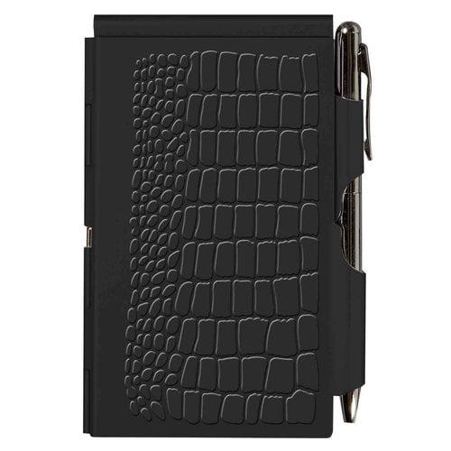 Flip Note-black Croc