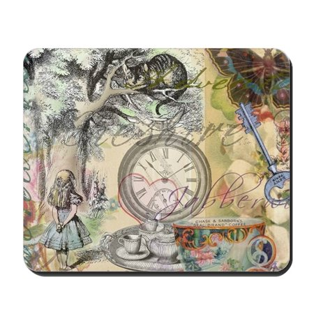 CafePress - Cheshire Cat Alice In Wonderland - Non-slip Rubber Mousepad, Gaming Mouse Pad (Mousepad Alice In Wonderland)