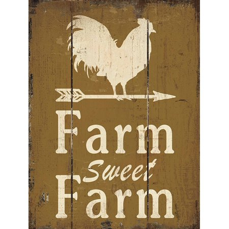 Barnyard Designs Farm Sweet Farm Retro Vintage Wood Plaque Bar Sign Country Home Decor 15 75  X 11 75