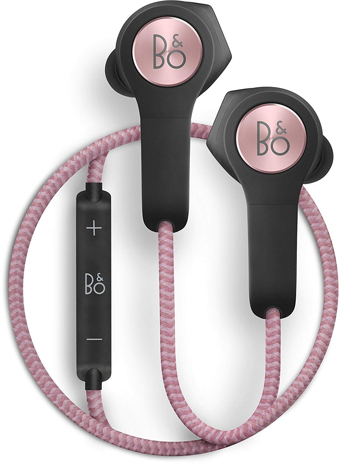 B&O PLAY by Bang & Olufsen Beoplay H5 Wireless Bluetooth Earphone Headphone (Dusty Rose) by B%26O