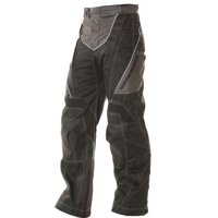 Xelement B4402 Men's Black and Grey Advanced X-Armored Tri-Tex Fabric Motorcycle Pants Black