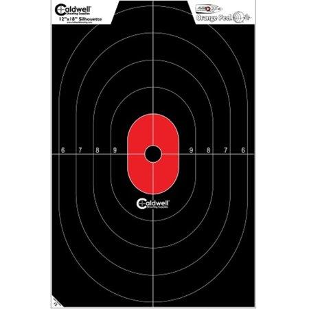 Caldwell Silhouette Center Mass Flake Off Target 8 pk - 90 Off Halloween Target