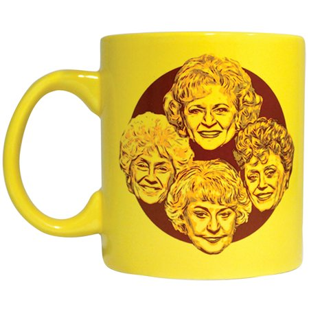 12 Ounce To Cup (Golden Girls Stay Golden Mug - Commemorative 12 Ounce Ceramic Coffee Tea)