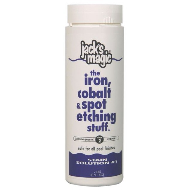 Jack's Magic The Iron, Cobalt and Spot Etching Stuff - 2 lb