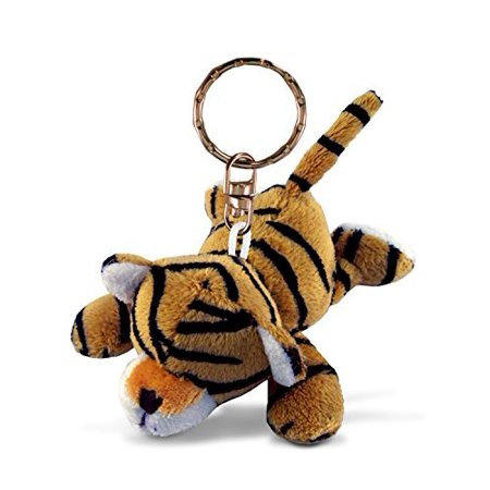 Tiger Keychain (Puzzled Tiger Plush Keychain)