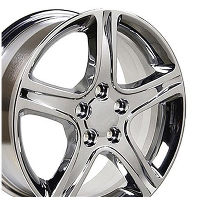 17 x 7 in. Wheel, Chrome for Lexus IS