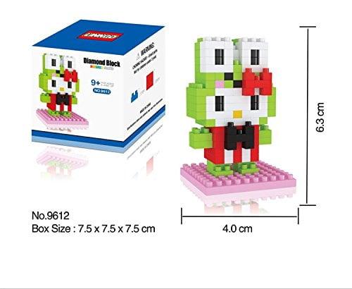 Diamond Blocks Nanoblock Hello Kitty Featuring Keroppi Ed...
