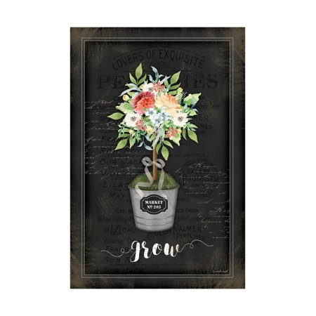 Floral Topiary IV Print Wall Art By Jennifer Pugh