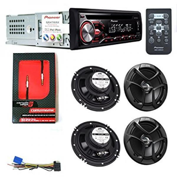 PIONEER DEH - X2800UI CAR DIGITAL STEREO CD PLAYER 2 JVC ...
