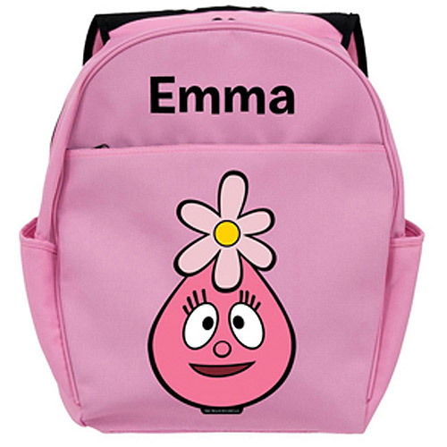 Personalized Yo Gabba Gabba! Foofa Head Pink Backpack