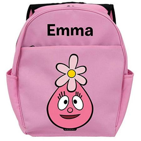 Personalized Yo Gabba Gabba! Foofa Head Pink Backpack - Foofa Yo Gabba Gabba