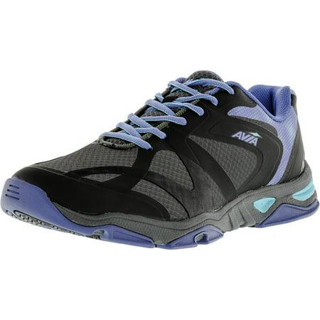 Avia Women's Gfc Impact Dark Grey / Black Medium Blue Ankle-High Running Shoe - 9M
