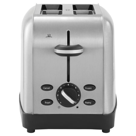 Oster Extra Wide Slot Toaster  2 Slice  8 X 12 7 8 X 8 1 2  Stainless Steel