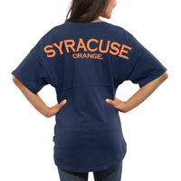 Syracuse Orange Women's Spirit Jersey Oversized T-Shirt - Navy