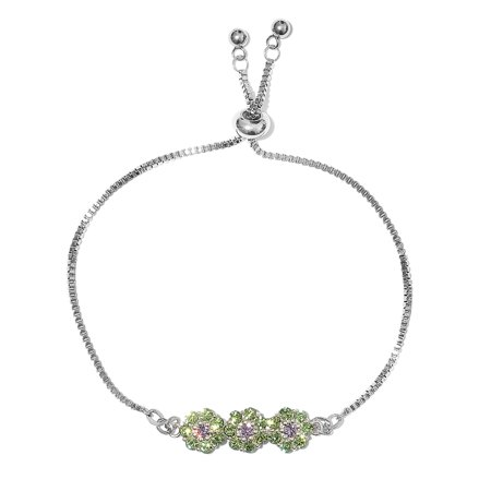 Made with SWAROVSKI Crystal Strand Tennis Bracelet for Women 9.5