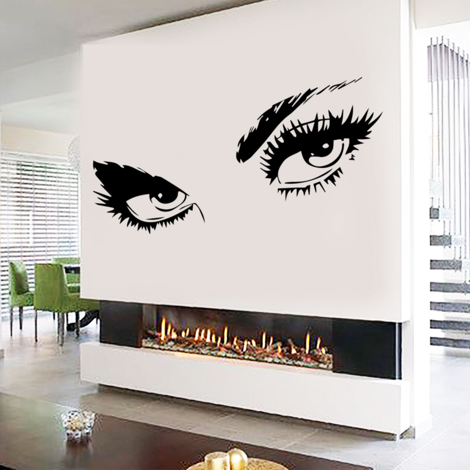 Audrey Hepburn Sexy Eyes / Attractive Eye Wall Decal Art Decor   Vinyl  Sticker   Walmart.com