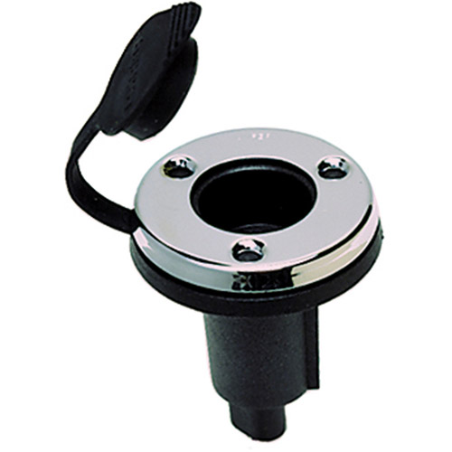 Perko 2-Pin Pole Light Base, Round