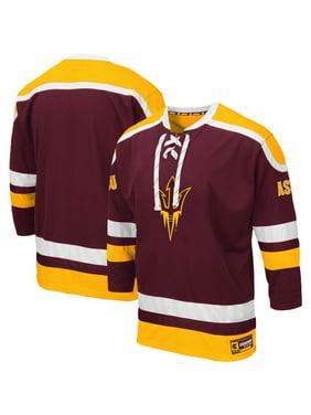 Arizona State Sun Devils Colosseum Big & Tall Mr. Plow Hockey Jersey Sweater - Maroon