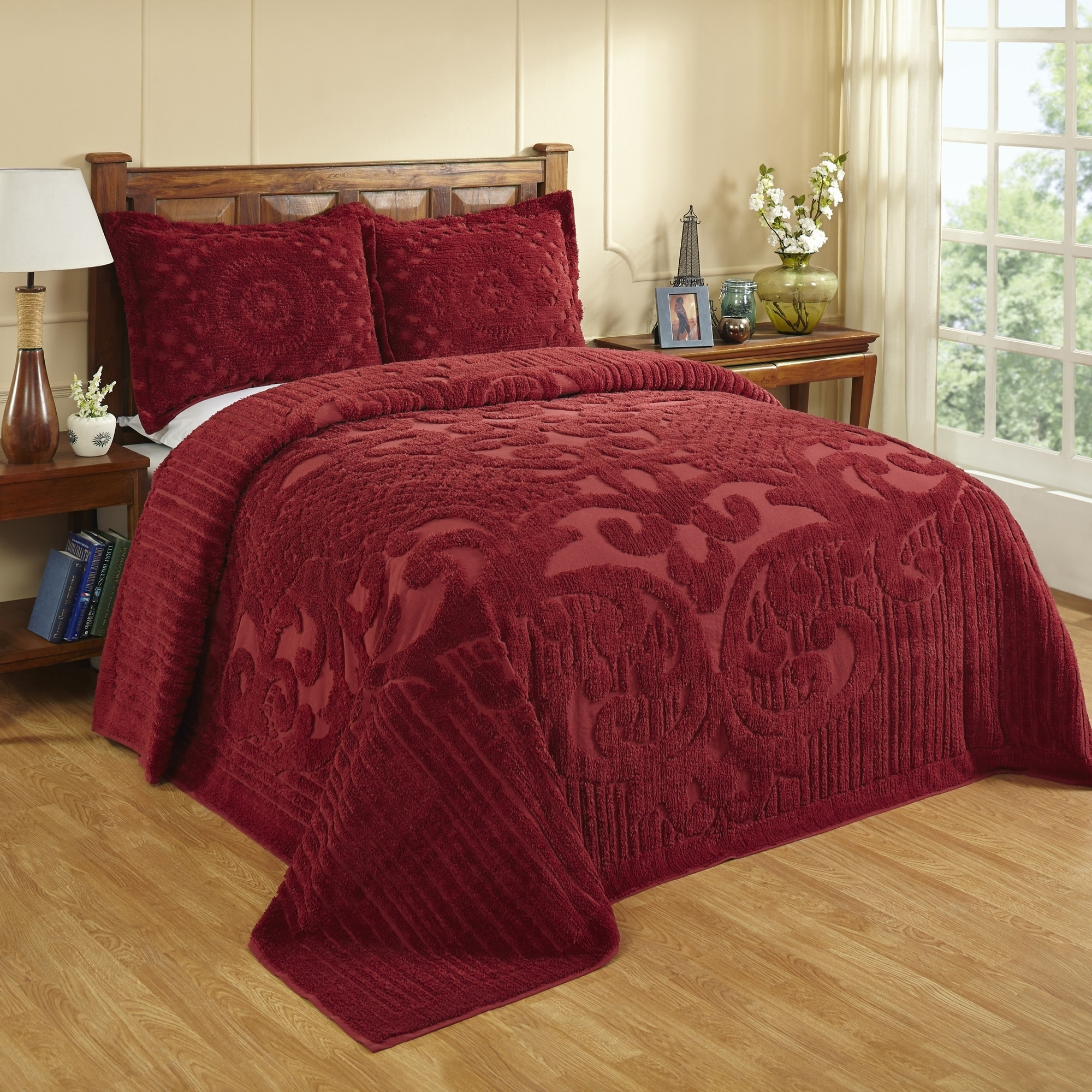 Ashton Double Bedspread 96X110 Teal