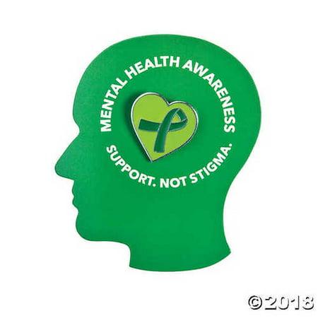 Mental Health Awareness Pins on Card](Mental Health Awareness Tattoo)