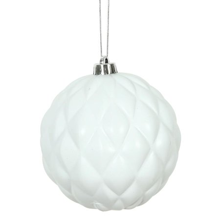 Custom Round Ornament (Vickerman 472712 - 4