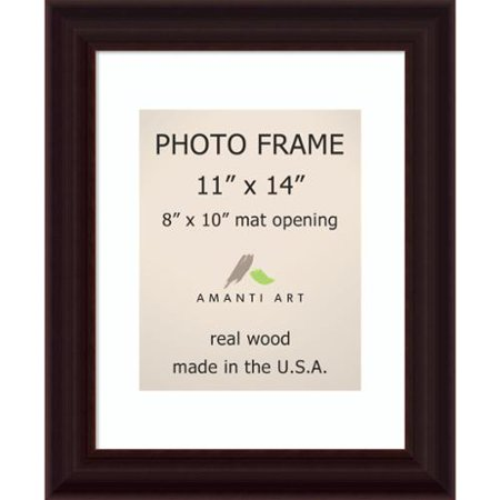 Espresso Photo Frame 11x14 Matted To 8x10 14 X 17 Inch Walmartcom