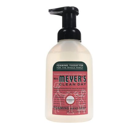 Mrs. Meyer's Clean Day Foaming Hand Soap, Watermelon, 10 Fluid Ounces