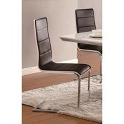 A Line Furniture Grandview Modern Black & White Dining Chairs (Set of 4)
