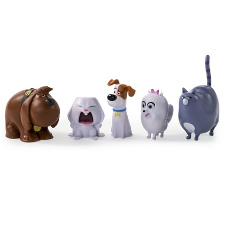 The Secret Life of Pets - Mini Pets Collectible Figures 5-Pack 1 6th Figures