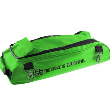 Vise Shoe Bag Add On for Vise 3 Ball Roller Bowling Bags- Green ()