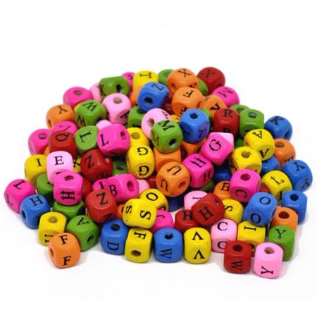 450 Mixed Color Wood Alphabet /Letter